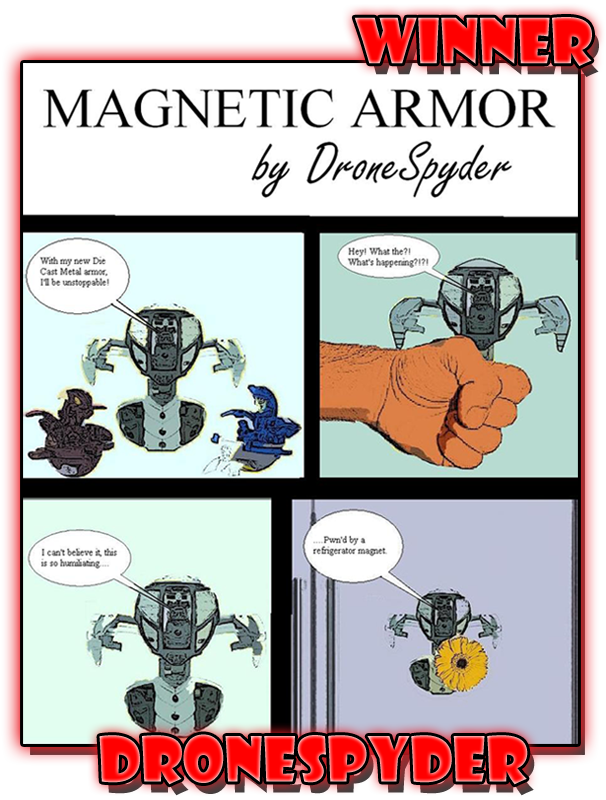 DroneSpyderMSComicWinner Winners of the Mechtanium Surge Comic Contest   July 2011!