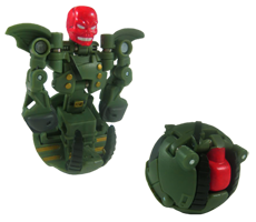 RedSkullGreen Bakugan: Mechtanium Surge   October & November Release Previews