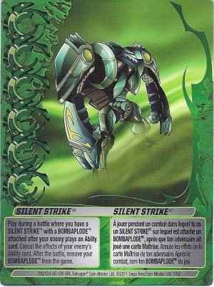 1 5d Silent Strike Bakugan 1 5d Mechtogan Card Set