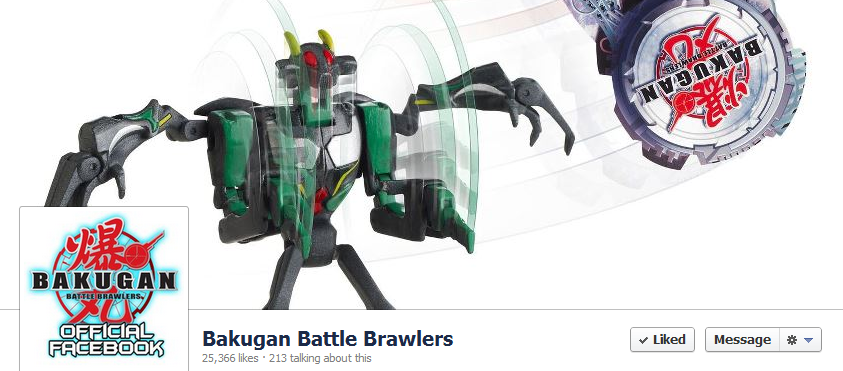 Bakugan FB Bakugan Active on Facebook