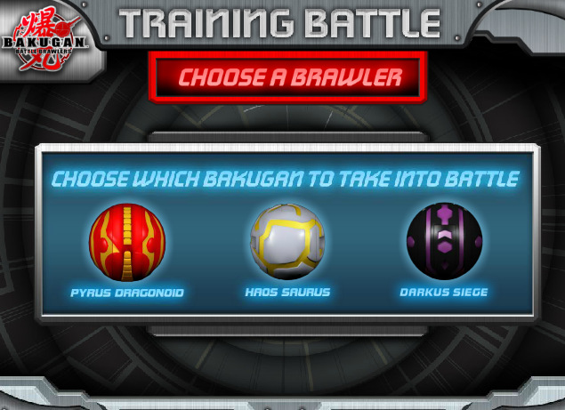 BAKUGANbrawler Bakugan Training Battle