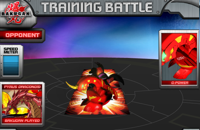BakuganRED Bakugan Training Battle