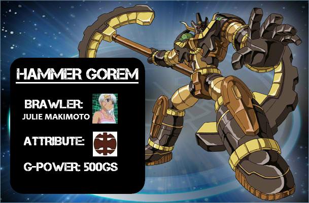 Hammer Gorem Bakumetered: Hammer Gorem!