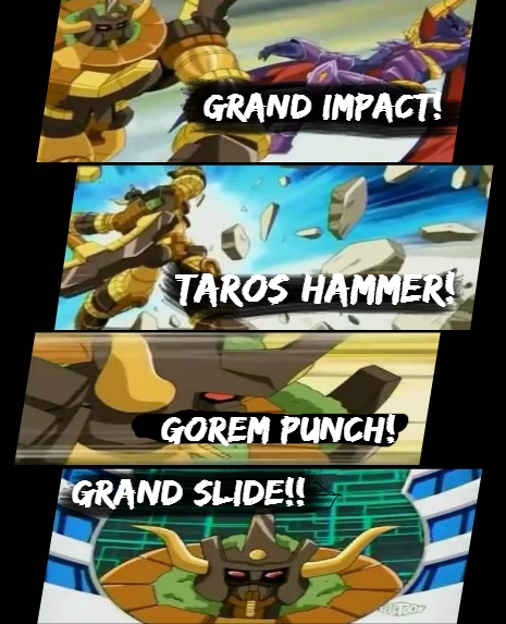 Hammer Gorem Abilities Bakumetered: Hammer Gorem!