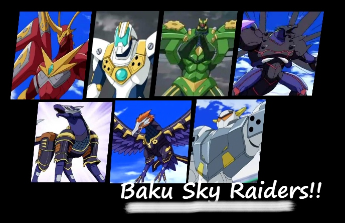 sky raiders Which Bakugan Baku Sky Raiders is your favorite?