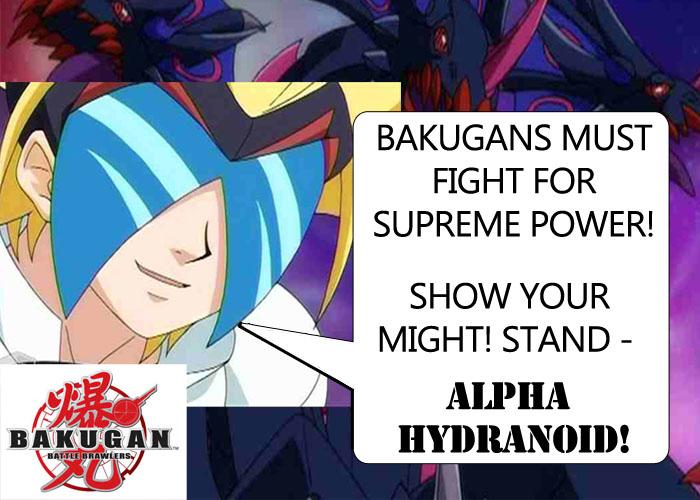 masquerade Masquerades Alpha Hydranoid! Bakugan Battle Brawlers Toys!