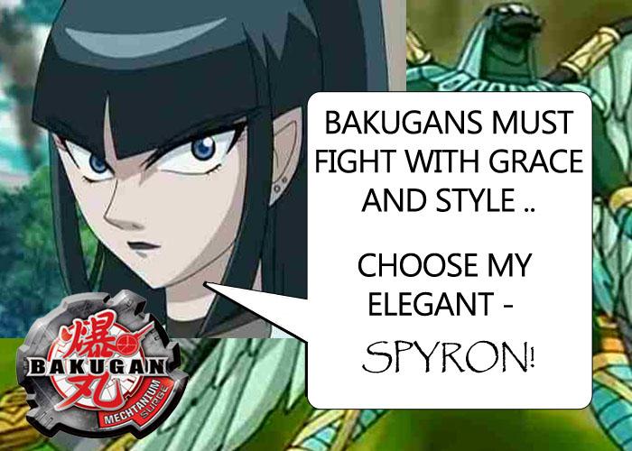sellon Sellons Spyron! Bakugan Mechtanium Surge Toys!